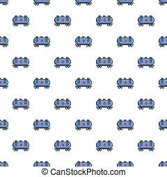 Gasoline railroad tanker pattern