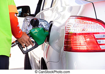Gasoline refill