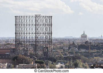 gasometro in Rome