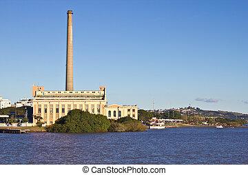 Gasometro - Old Gas Plant - Porto Alegre - Rio Grande do Sul...