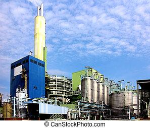 gaspillage, municipal, combustion