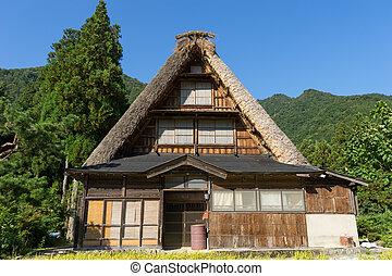 Gassho Zukuri (Gassho-style) House