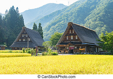 Gassho Zukuri (Gassho-style) Houses