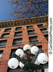 Gastown, Vancouver, BC, Canada - Historic Gastown in...