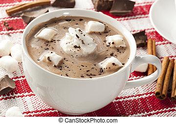 gastrónomo, chocolate caliente