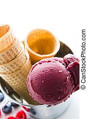 gastrónomo, gelato