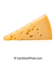 gastrónomo, queso, pedazo