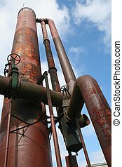 Gasworks Pipes