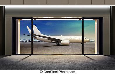 gate in airport