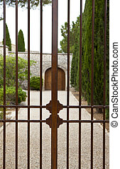 Gate of a residence