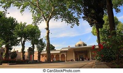 Gate of Felicity, Topkapi Palace - Topkapi Palace Museum....