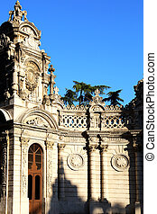Gate of Sultan Dolmabahce Palace