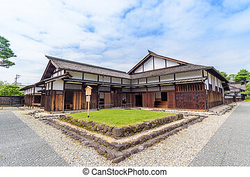 Gate of Takayama Jinya, Former Government Outpost