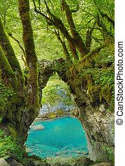 Gate of the Wishes, Kapija zelja. Mrtvica river Canyon...