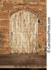 Gate on a castle