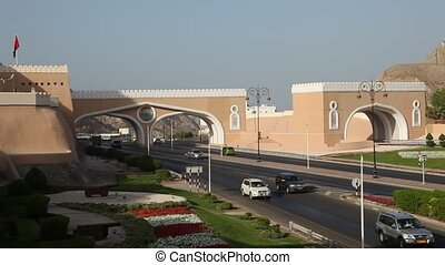 Gate to Muttrah, Oman - Gate to Muttrah, Muscat Sultanate of...