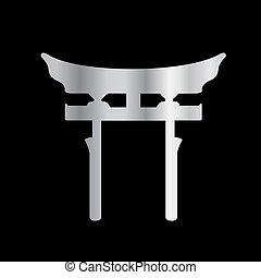 gate-, torii, sintoísmo, shinto