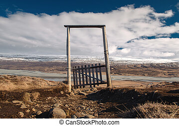 Gates in the mountains