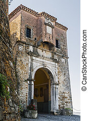 Gates Motovun - the town and fortress in Istria