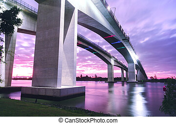 Gateway Bridge Motorway - The Gateway Bridge (Sir Leo ...