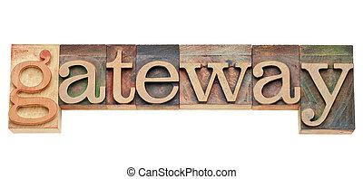 gateway - computer network concept