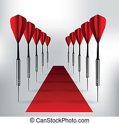 gateway darts and the red carpet