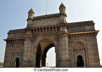 Gateway Of India in Mumbai. - Gateway Of India in Mumbai...