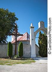 Gateway to church