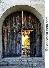 gateway to the ancient Ukrainian Castle