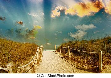 Gateway to the ocean.