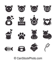 gato, icono