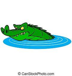 gator, 水