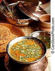 Gatte Ki Sabzi - a popular Rajasthani dish - Gatte ki sabji...