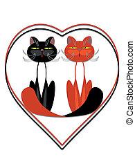 gatti, heart.