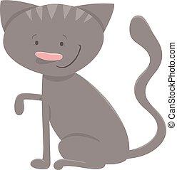 gattino, carattere, o, gatto