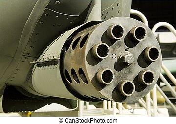 gattling, (a-10), fusil, coup foudre, ii