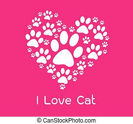 gatto, amore