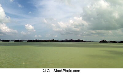 Gatun Lake - Panama Canal - High Definition Video