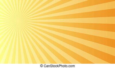 gauche, lumière, fond, rayon, jaune