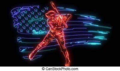 gaucher, puissant, hitter, base-ball