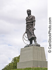 Gaucho statue - Porto Alegre - RS - Brazil