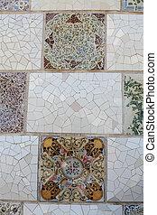 Gaudi. Mosaic.