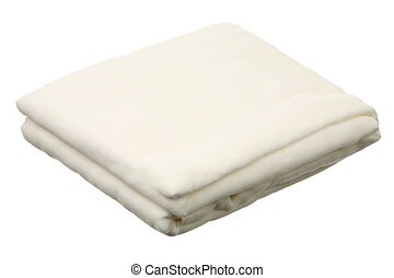 Gauze roll isolated on a white background