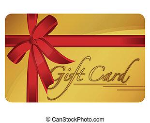 gave card