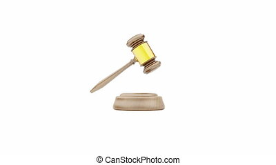 gavel 3d animation High-definition, HD