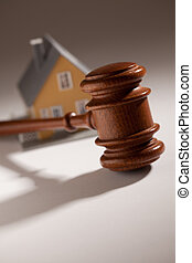 Gavel and Model Home