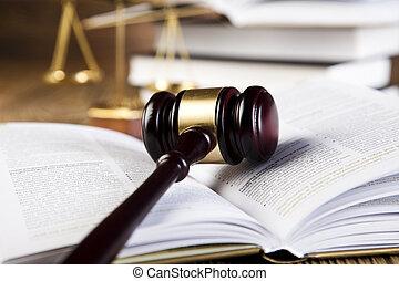 gavel, code, wettelijk
