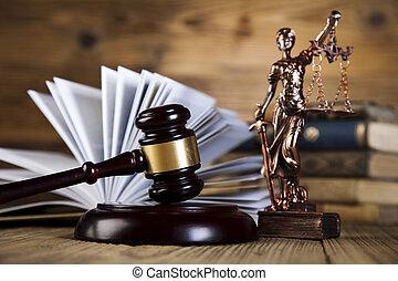 gavel, kodeks, prawny