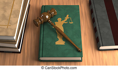 gavel, livro lei