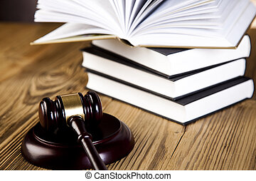 Gavel on legal code